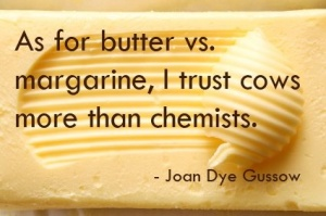butter v margarine