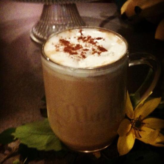chai pumpkin latte