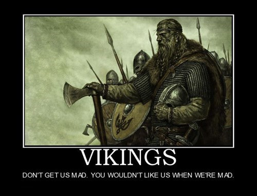 I Seem to Lack VikingBlood