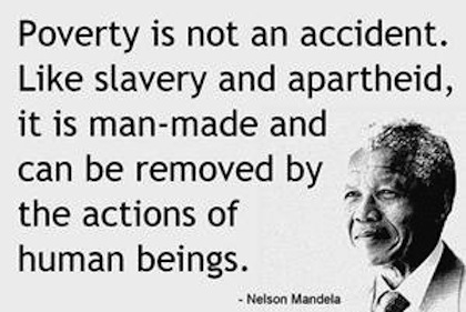 poverty-not-an-accident-nelson-mandela-picture-quote